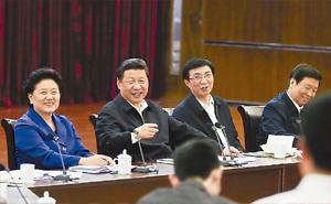 习近平:在同各界优秀青年代表座谈