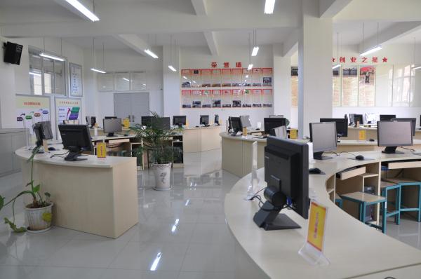 现代商务实训中心—创业实训室