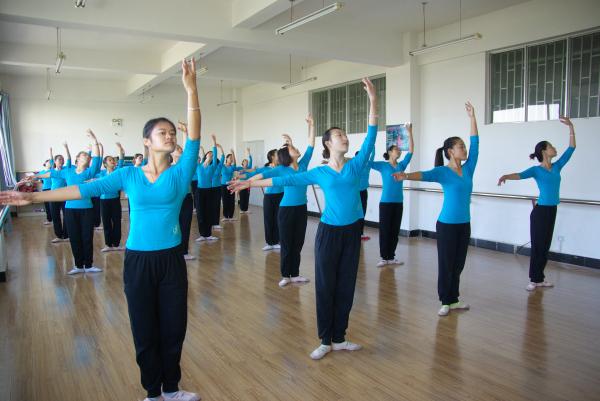 艺术综合实训中心—舞蹈实训室