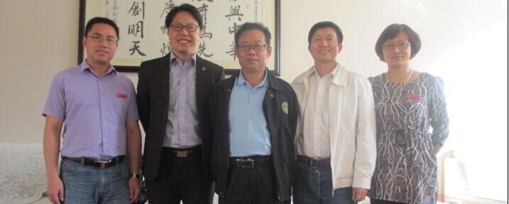 台湾侨光科技大学傅秀仁处长莅临云南经济管理学院开展讲座