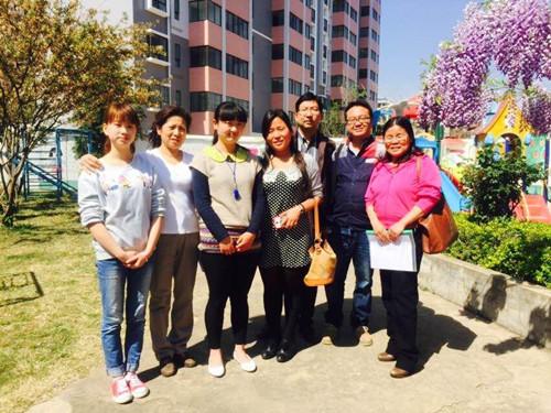 沙龙国际学院人文艺术学院副院长张程一行赴幼儿园