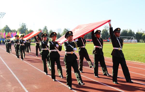 云南经济管理学院第三届体育文化节暨第十八届冬季田径运动会隆重开幕