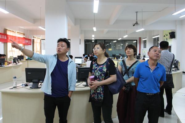 宏师范高等专科学校领导莅临云南经济管理学院考察交流图片
