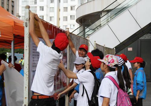 云南经济管理学院参加安宁 职业教育活动周 活动