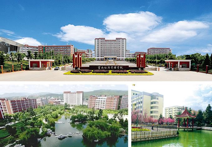 """云南经济管理学院荣获 2015年、2016年""""昆明最美大学""""称号-走进经"""