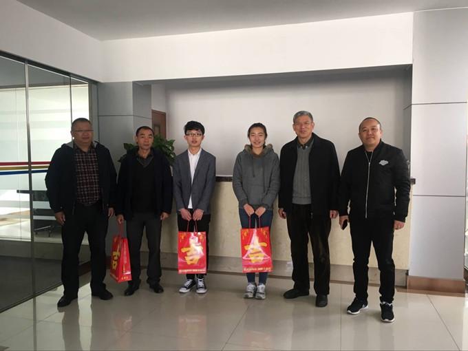 殷关怀暖人心 云南经济管理学院开展2017年春节慰问活动