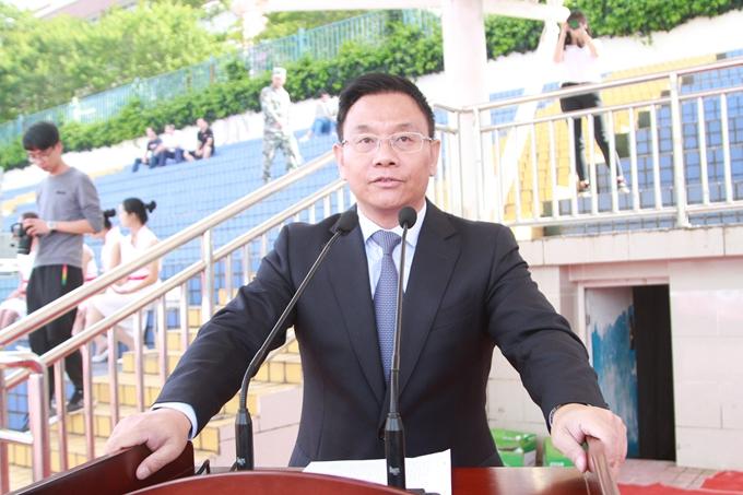 """云南经济管理学院举行""""文明安宁"""