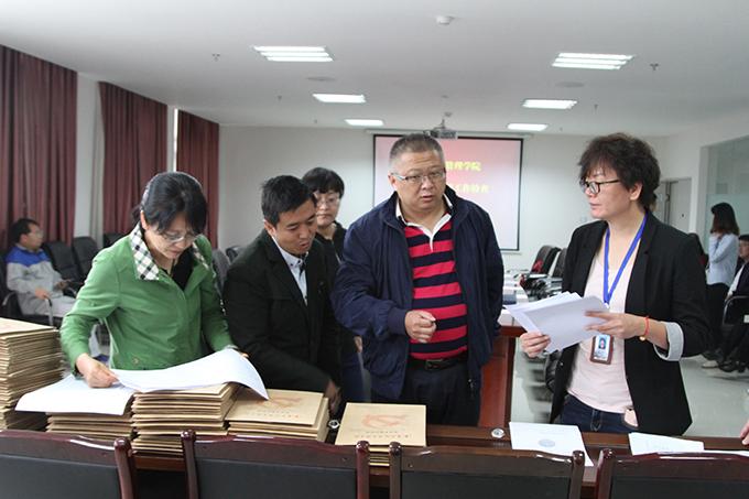 省委高校工委专家组对我校发展党